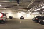 Gästplatserna i garage KI21